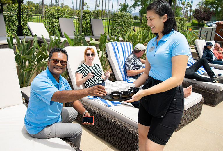 The Delight Is in the Details: Poolside Concierge